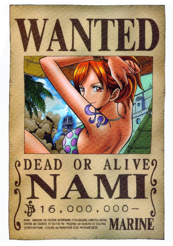 Mugiwara's wanted ! 3e85f264