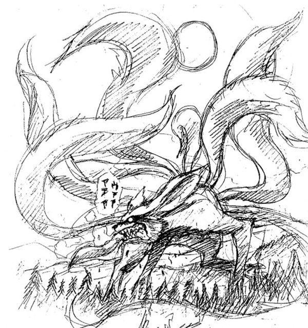 Naruto personage page 4 - Naruto kyubi dessin ...