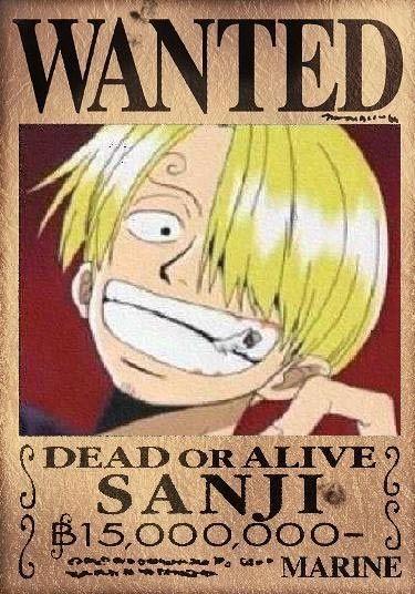 Mugiwara's wanted ! 8e3b10b1